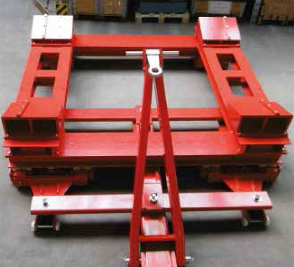 Cable coils trolley